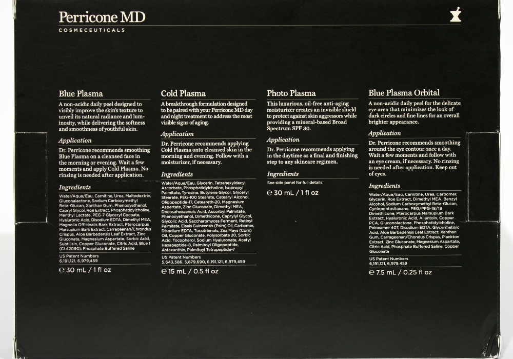 DR. PERRICONE The Science of Plasma