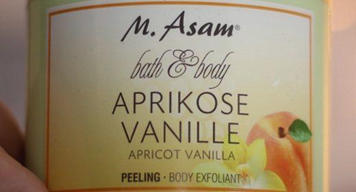 M. ASAM Bath & Body Aprikose Vanille Peeling