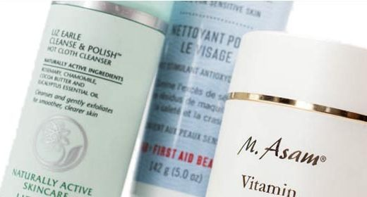 LIZ EARLE Hot Cloth Cleanser & FIRST AID BEAUTY Face Cleanser M. ASAM® Vitamin E Reinigungscreme