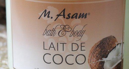 M. ASAM Bath & Body Lait de Coco