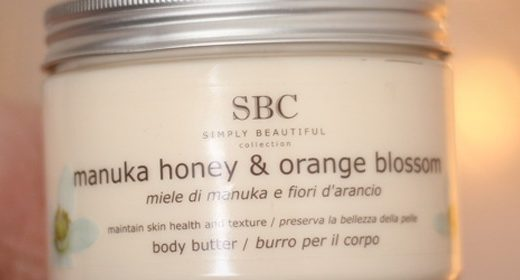SBC Manuka Honey & Orange Blossom Body Butter