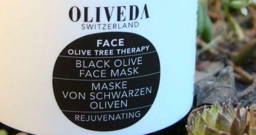 OLIVEDA Black Olive Face Mask