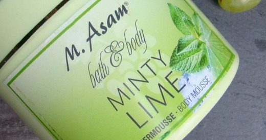 M. ASAM Bath Body Minty Lime Body Mousse