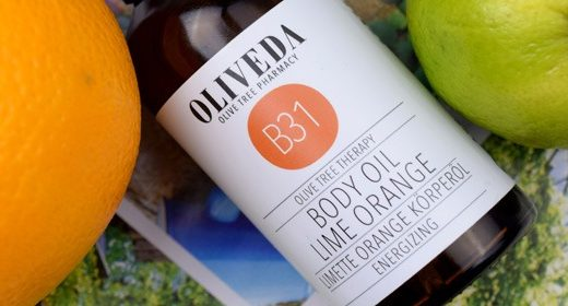 OLIVEDA Body Oil Lime Orange