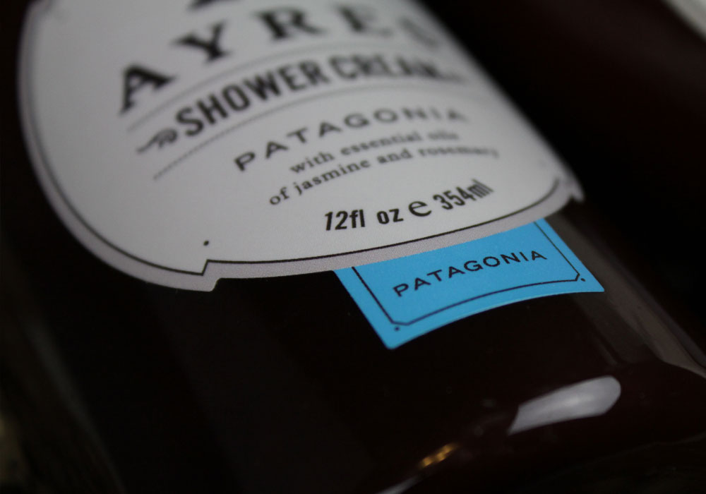 AYRES Patagonia Shower Cream & Body Lotion