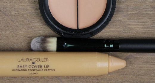 EVE PEARL Dual Salmon Concealer & LAURA GELLER Easy Cover Up Concealer