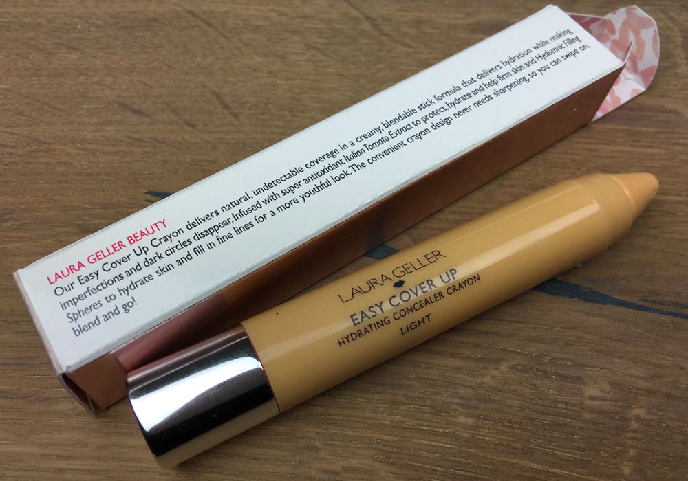 LAURA GELLER Easy Cover Up Hydrating Concealer Crayon