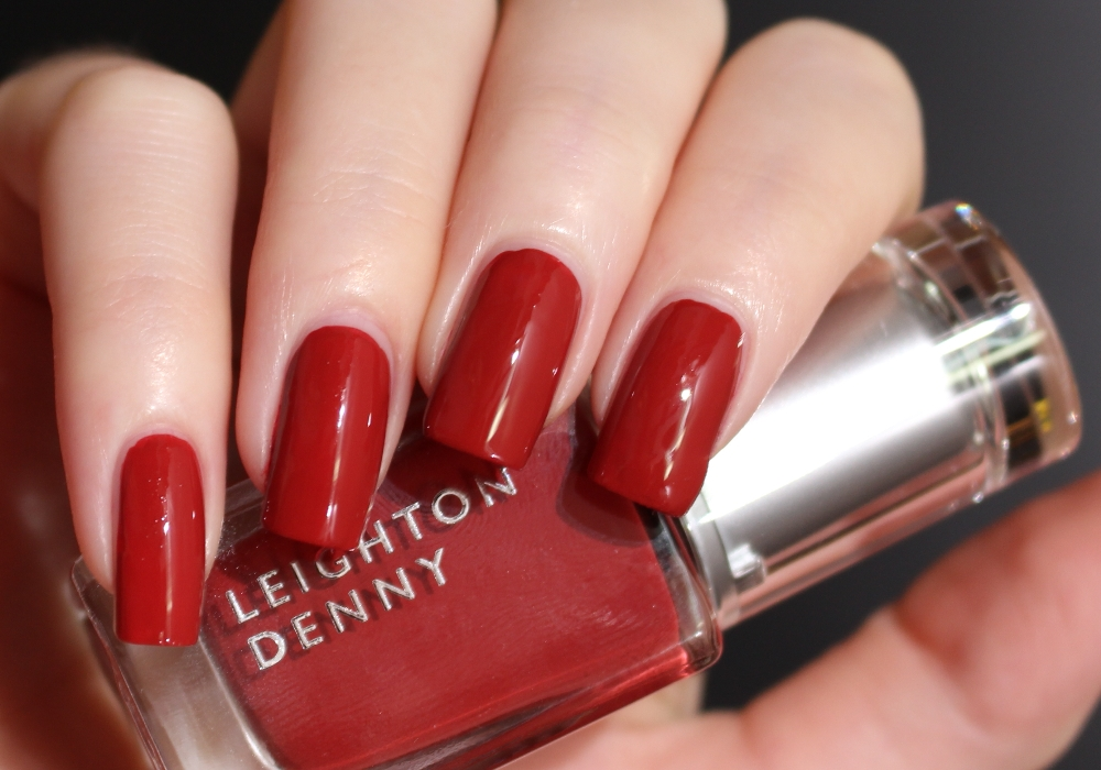 LEIGHTON DENNY Nail Polish Feel the Burn