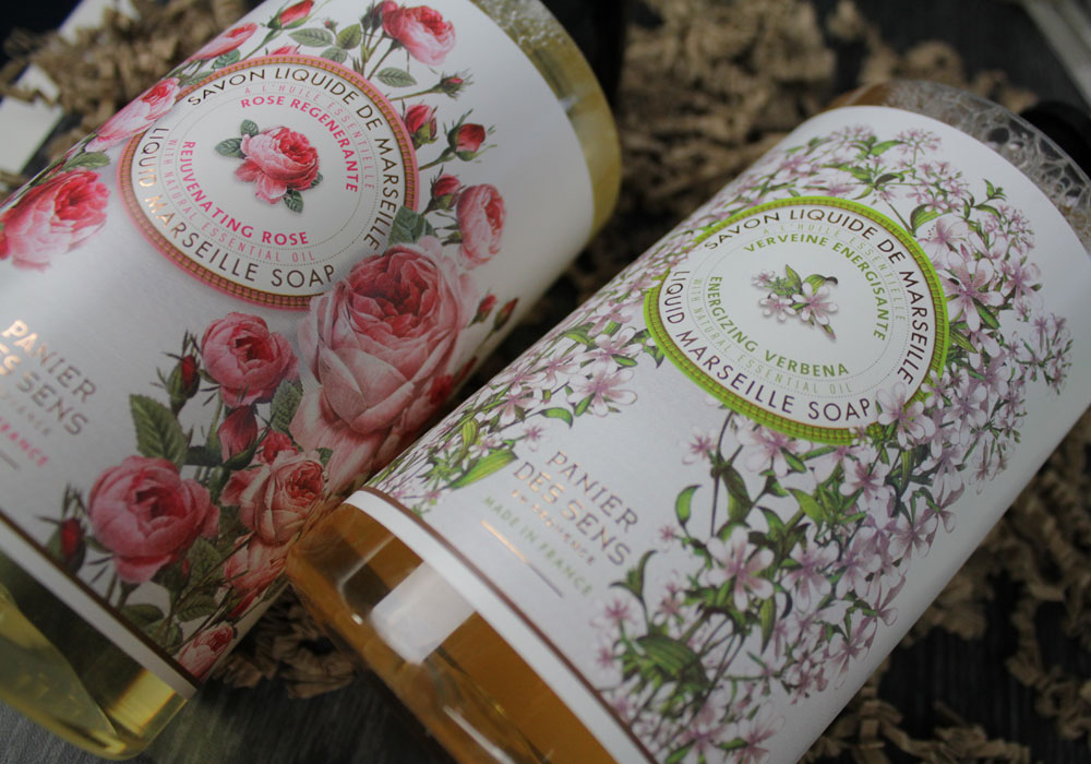PANIER DES SENS Liquid Marseille Soap Rejuvenating Rose & Energizing Verbena