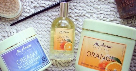 M. ASAM® Orange & Creamy Blueberry & Sicilian Orange