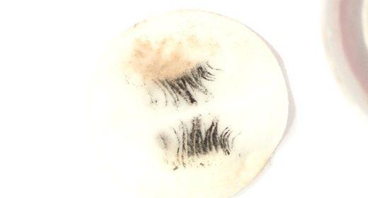 Mascara entfernen