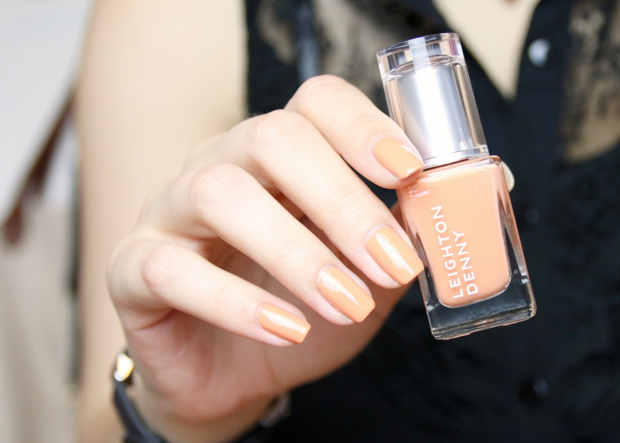 LEIGHTON DENNY Nail Polish Craving Coral