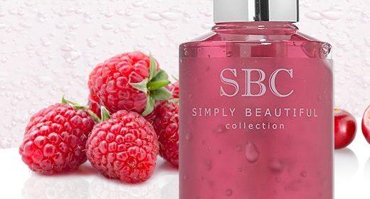 SBC Super Fruits Raspberry & Cranberry Skincare Gel