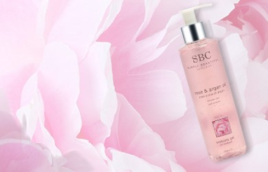 SBC Rose & Argan Oil Skincare Gel