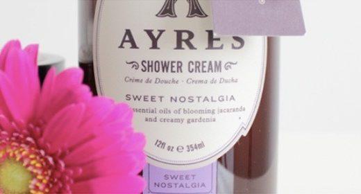 AYRES Sweet Nostalgia Shower Cream
