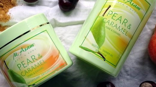 M. ASAM Bath & Body Pear & Caramel