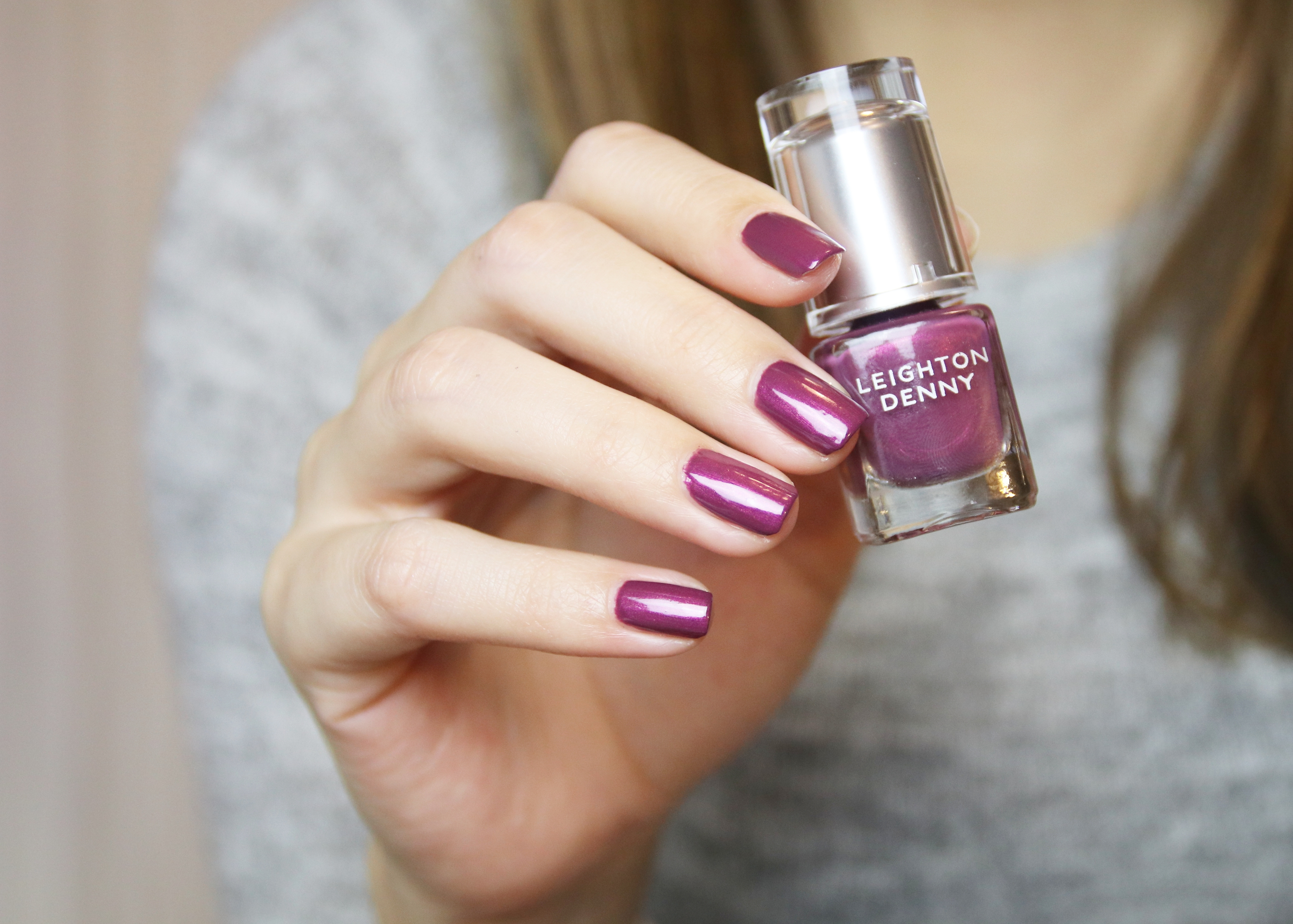 LEIGHTON DENNY Nail Polish Real Treasures