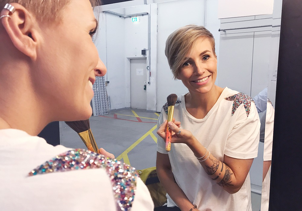 Backstage bei der QVC Beauty Night