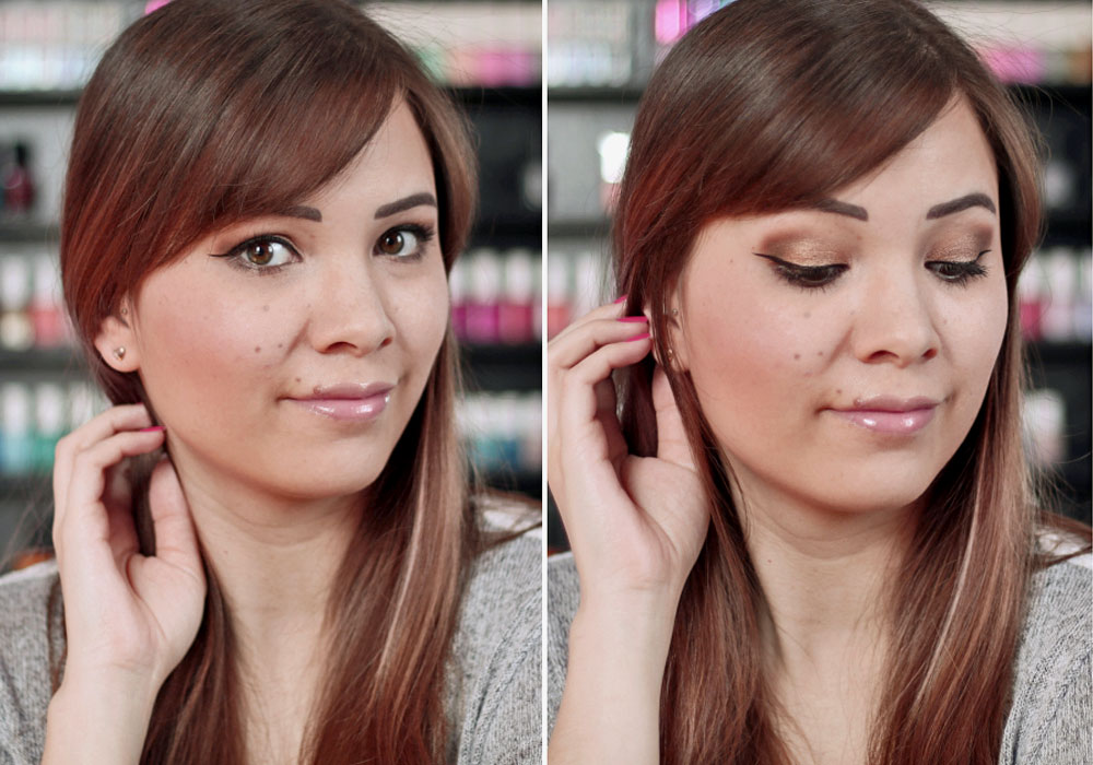 bareMinerals® The Bare Neutrals Make-up Look