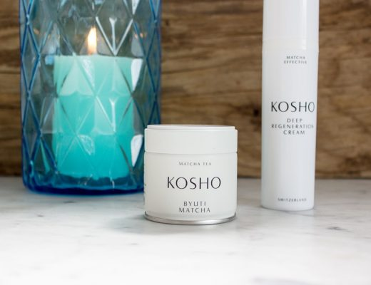 KOSHO Byuti Matcha Tea & MATCHA EFFECTIVE Deep Regeneration Cream
