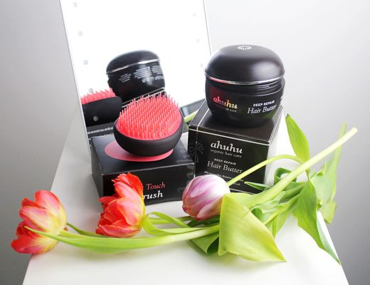 ahuhu DEEP REPAIR Hair Butter & Soft Touch Brush