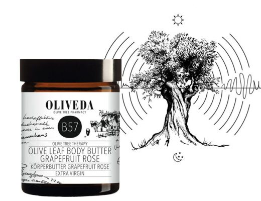 OLIVEDA Olive Leaf Body Butter Grapefruit Rose