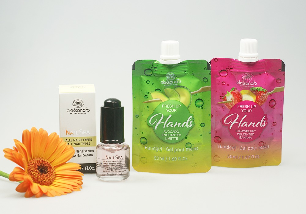 alessandro Fresh Up Your Hands Handgel