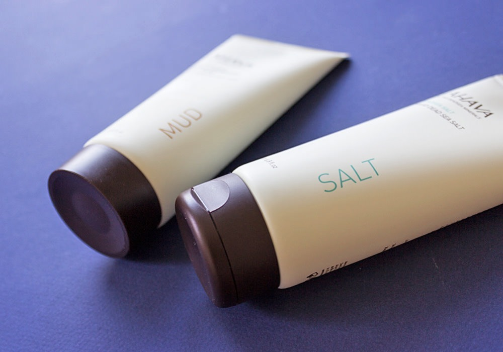 AHAVA DEADSEA SALT & LEAVE-ON DEADSEA MUD