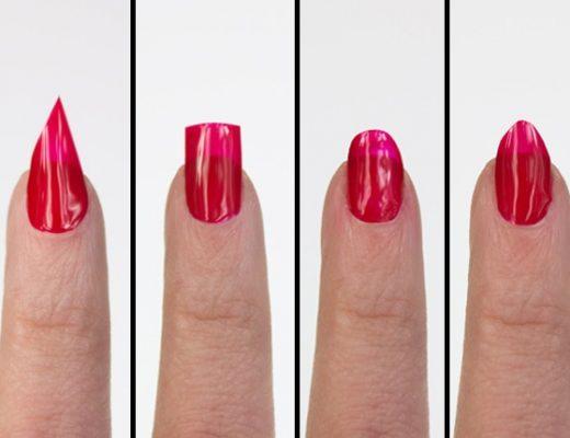 Nagelformen