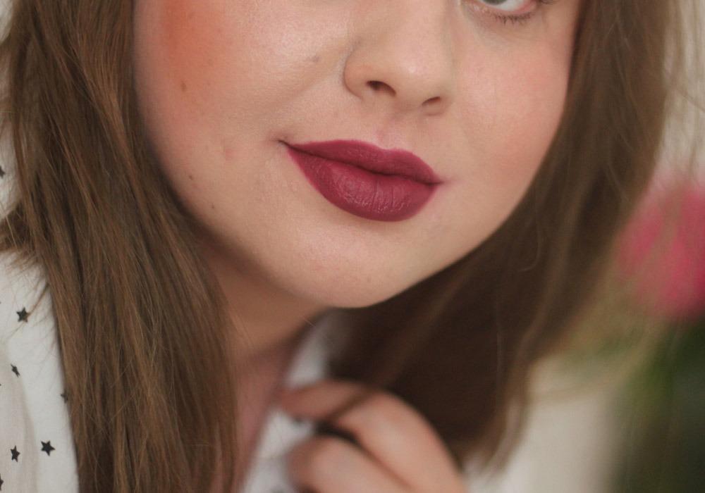 bareMinerals Statement Under Over Lip Liner Graphic Lip Matte Liquid Lipcolor Devious Swatch