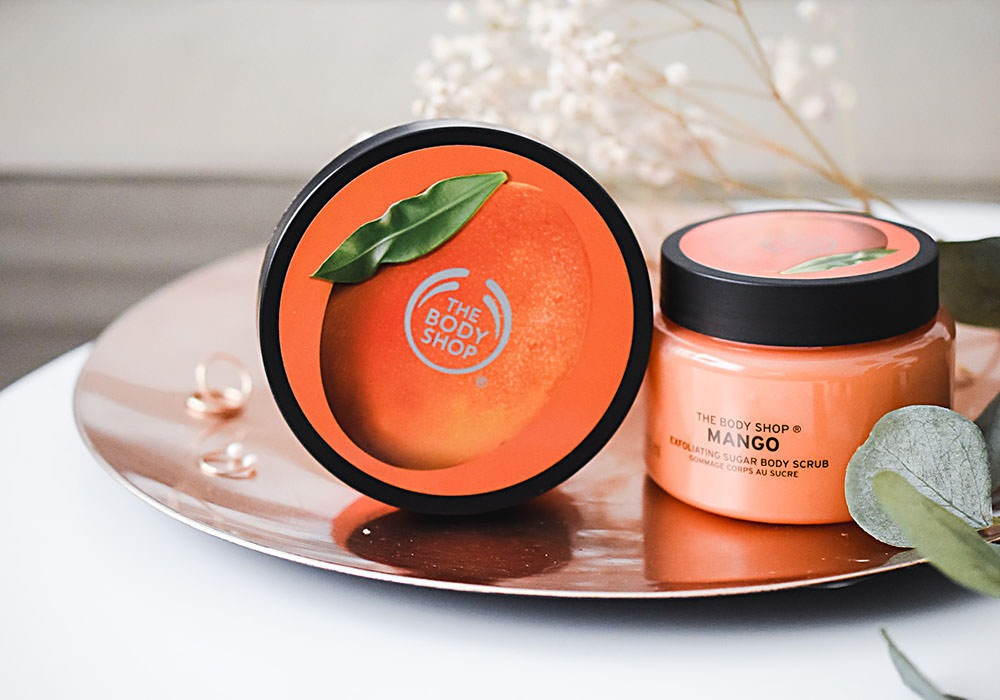 THE BODY SHOP MANGO Exfolitating Sugar Body Scrub