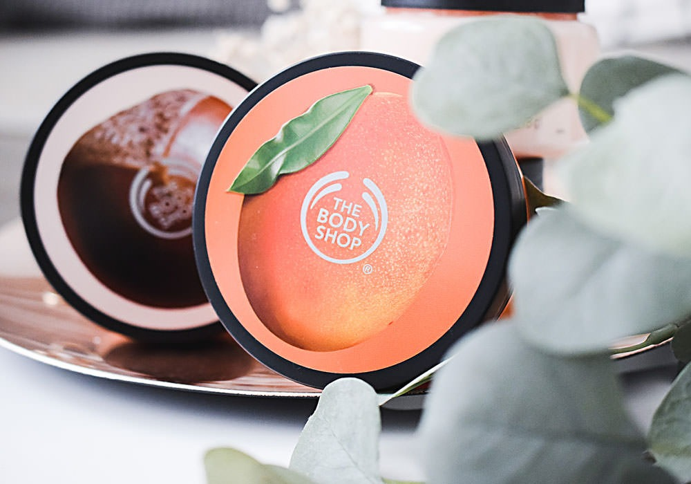 THE BODY SHOP SHEA NAGO Exfoliating Sugar Body Scrubs
