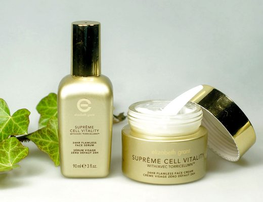 ELIZABETH GRANT SUPRÊME CELL VITALTY 24hr Flawless Face Serum & Cream