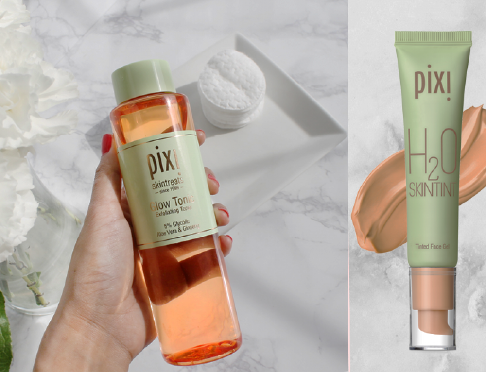 Ihr habt getestet: PIXI Glow Tonic & Complexion Perfection Duo H2O Skintint