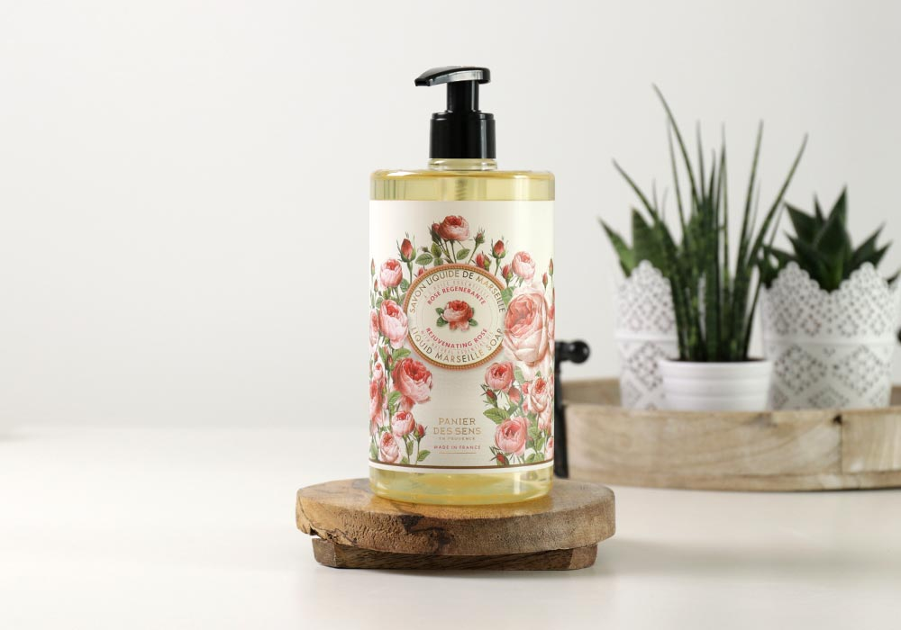 PANIER DES SENS Liquid Marseille Soap Rejuvenating Rose