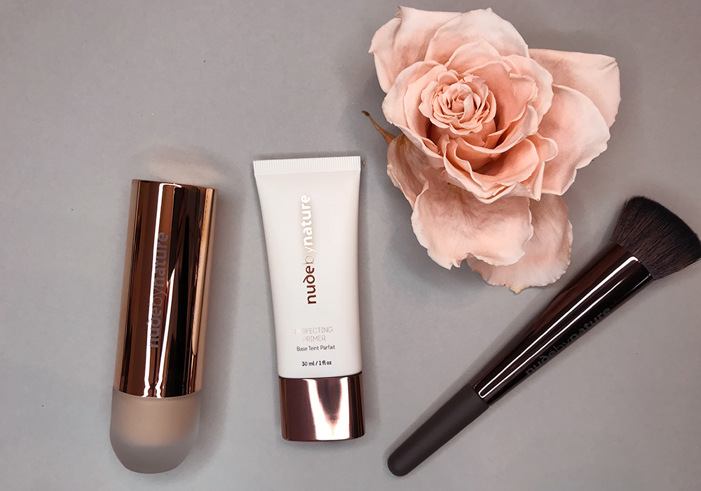 NUDE BY NATURE Perfecting Primer & Flawless Foundation