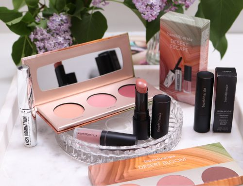 Swatches: bareMinerals® Desert Bloom & Desert Escape Limited Editions