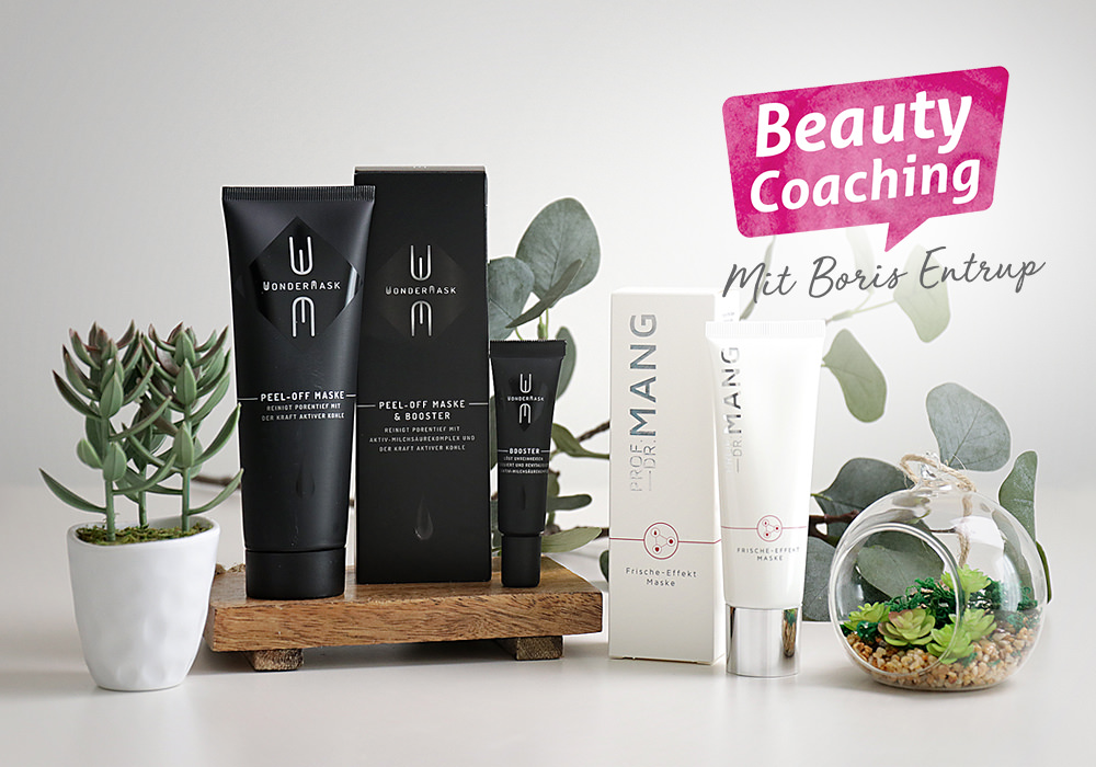 Beauty Coaching mit Boris Entrup Masken