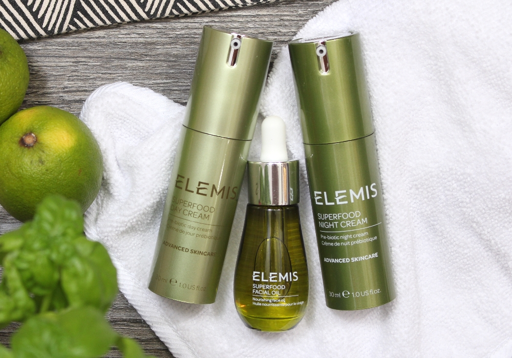 ELEMIS SUPERFOOD Day, Night Cream & Facial Oil