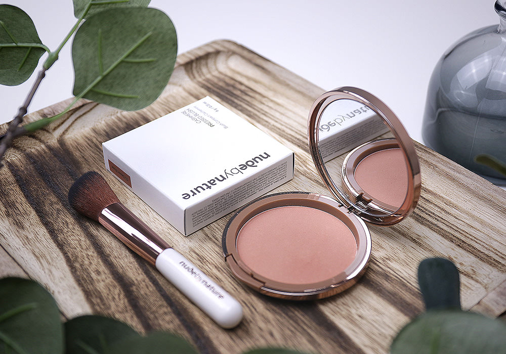 NUDE BY NATURE Cashmere Pressed Blush Desert Rose