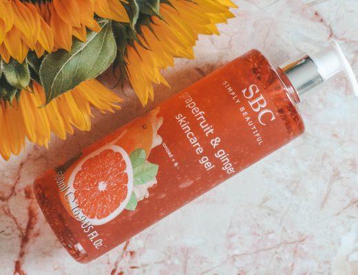 SBC Grapefruit & Ginger Skincare Gel