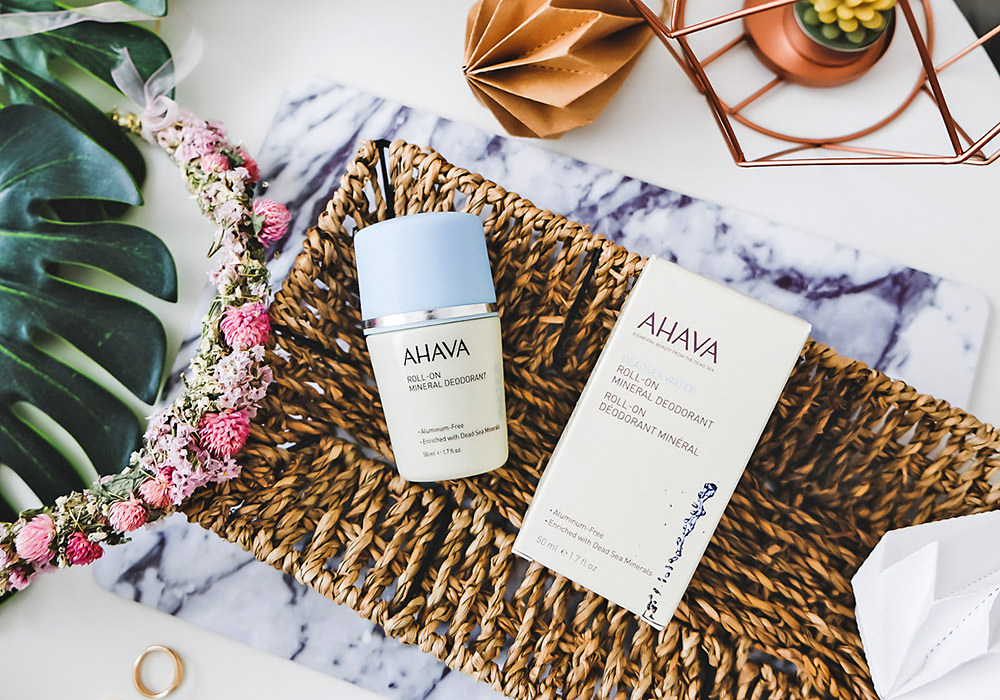 AHAVA Roll-On Mineral Deodorant