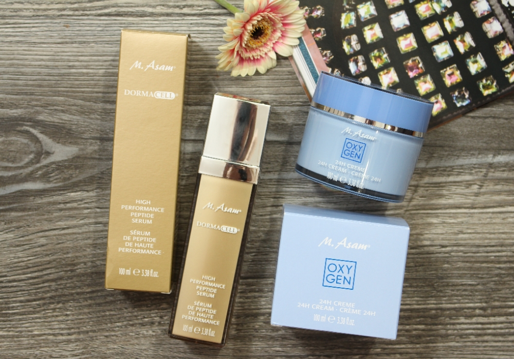 M. ASAM® DORMACELL High Performance Peptide Serum & OXYGEN 24h Creme