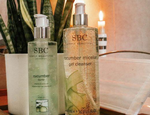 SBC Cucumber Skincare Gel & Micellar Gel Cleanser