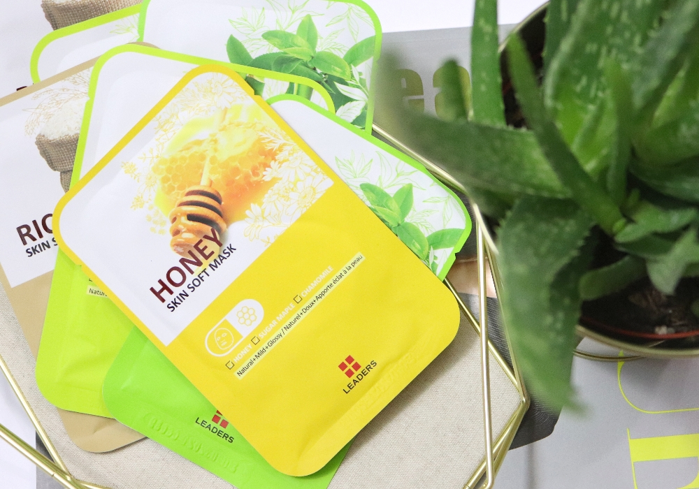 LEADERS Skin Soft Mask Honey