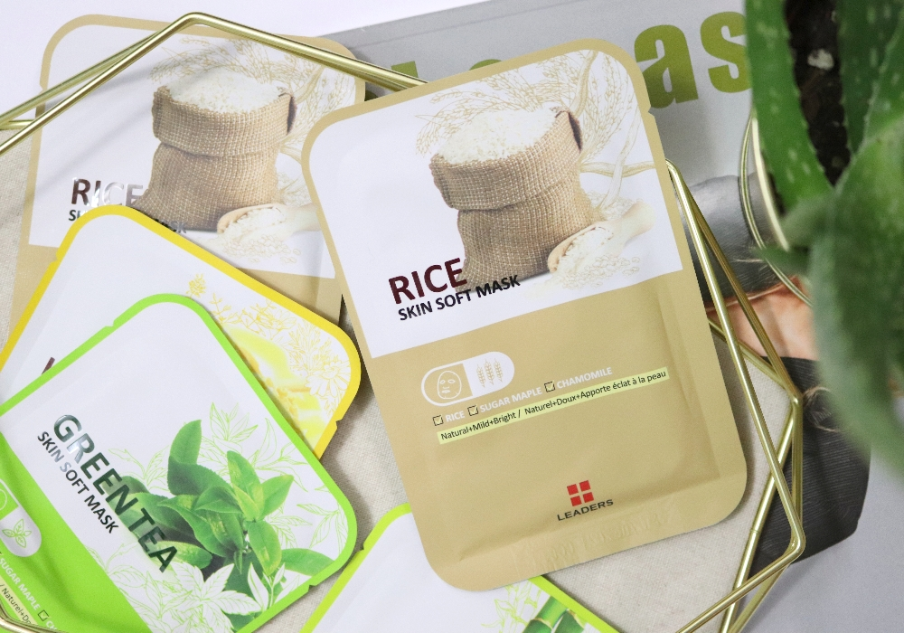 LEADERS Skin Soft Mask Rice