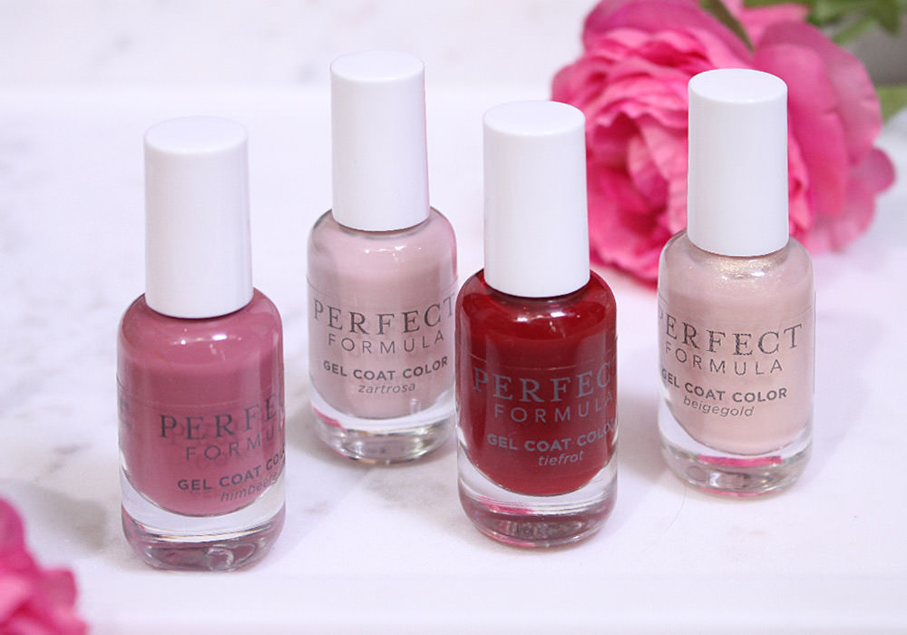 PERFECT FORMULA Gel Coat Color Collection Rot