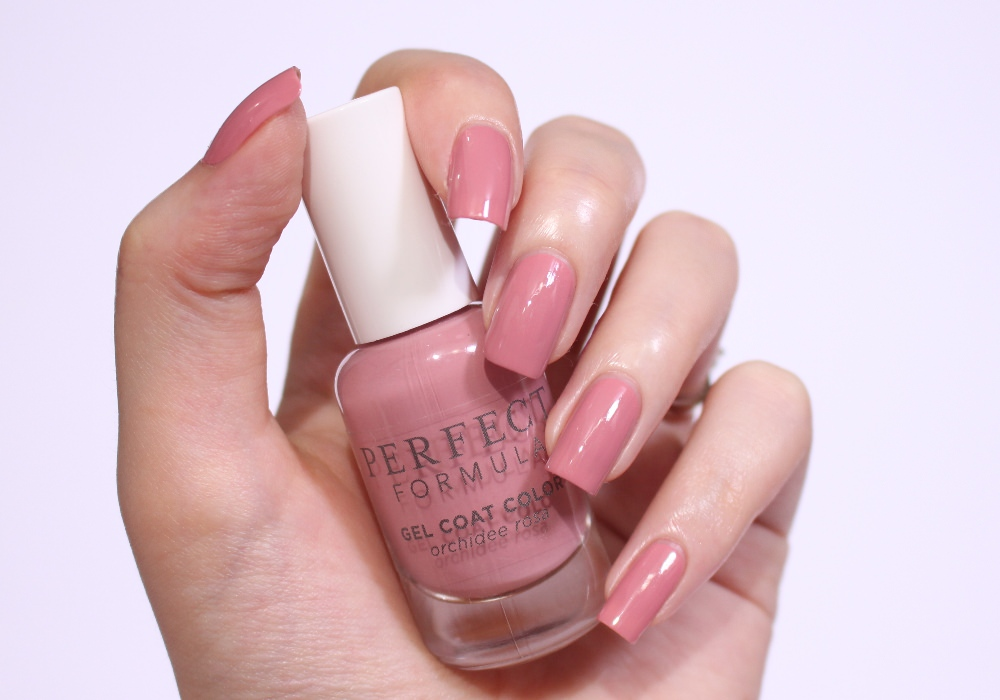 PERFECT FORMULA Gel Coat Color Orchidee Rose Swatch