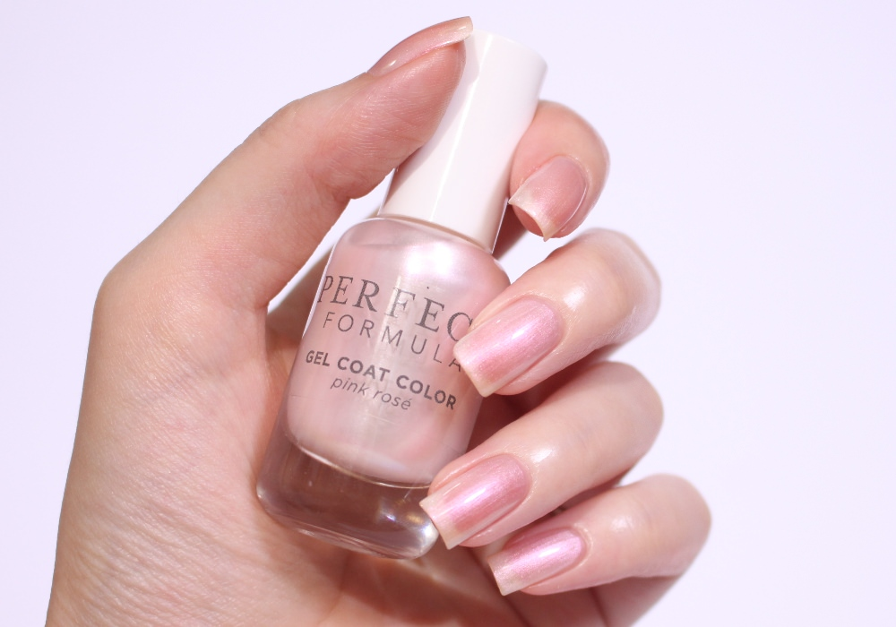 PERFECT FORMULA Gel Coat Color Pinkrose Swatch