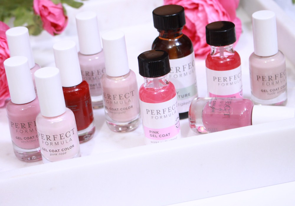 PERFECT FORMULA Gel Coat Nagellacke